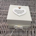 Shabby Personalised Chic Auntie Aunty Great Aunt Gift Trinket Box Jewellery Box - 253191087164